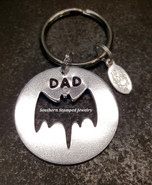 Batman Circle Key Chain