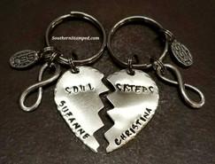 Soul Sisters Key Chain Set