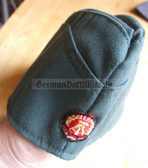 wo106 - VP Volkspolice and BePo Riot Police officer overseas cap Schiffchen - different sizes available