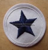 om215 - 2 - Volksmarine Nautical Service Specialist Sleeve Patch for EM - white