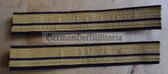 om213 - GST SEE naval arm of the GST - Leutnant Officer Sleeve rank bands - pair