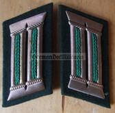 sbbs025 - 13 - Volkspolizei Police officer Collar Tabs - Dress Uniform
