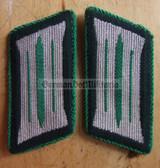 sbbs024 - pre-1980 Volkspolizei Police non-officer Collar Tabs - Dress Uniform