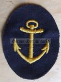 om005 - Maat Volksmarine Kuestendienst - Costal Service - sleeve patch
