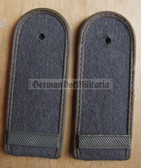 sbfd002 - FELDDIENST GEFREITER - all branches of the army and border guards - pair of shoulder boards
