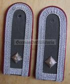 sbmfs006 - 3 - FELDWEBEL - Staatssicherheit MfS Wachregiment - State Secret Police - pair of shoulder boards