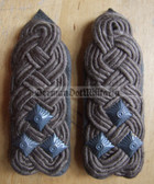 sbfd027 - FELDDIENST OBERST - all branches of the army and border guards - pair of shoulder boards