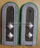 sbgt007 - OBERFELDWEBEL - Grenztruppen - Border Guards - pair of shoulder boards