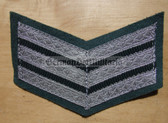 om007 - 8 - VP Volkspolizei Police 15 years service sleeve rank patch chevron