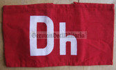 wo023 - 4 - NVA Army Dh - Diensthabender - Duty Soldier - armband