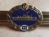 qs019 - Qualifizierungsspange qualification clasp seemännisches Personal Volksmarine Navy Sea Men - worn on uniforms