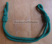 om722 - 5 - green chin strap cord VP Volkspolizei and BePo non-officer visors