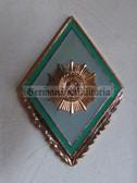om012 - 11 - VP Volkspolizei Police Officer College Degree Badge  - Academy Graduate