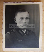 wpc008 - Wehrmacht Officer Candidate Portrait photo