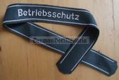 om200 - VP Volkspolizei police Betriebsschutz uniform cuffband