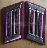 sbbs044 - 2 - Professional Feuerwehr Fire Fighters officer Collar Tabs - Dress Uniform