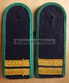 sbgbk003 - STABSMATROSE - Grenzbrigade Kueste - Coastal Border Guards - pair of shoulder boards
