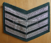 om204 - VP Volkspolizei Police 20 years service sleeve rank patch chevron