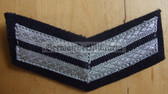 om209 - 2 - TraPo Transportpolizei Transport Police 10 years service sleeve rank patch chevron
