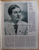 oz004 - EWIGES DEUTSCHLAND - Eternal Germany - newspaper March 1939