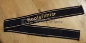 om136 - VP Volkspolizei water police BOOTSFÜHRER uniform cuffband