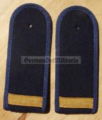sbvmx002 - 4 - OBERMATROSE  - from early 1970's - Volksmarine - Navy - pair of shoulder boards