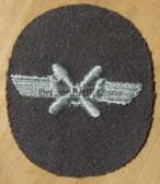 om132 - NVA FLUGZEUGMECHANIKER - aircraft mechanic - qualification sleeve patch