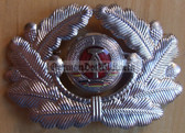 sbbs059 - 4 - NVA Army and Grenztruppen officer Visor Hat insignia - visor cockade