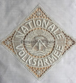 oo046 - 13 - NVA place doily - leaving present for professional NCO's - Reservist