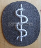 om082 - NVA Army Medic qualification sleeve patch