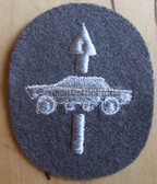 om083 - NVA Army Aufklärer Recon Troops qualification sleeve patch