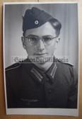 wpc030 - Wehrmacht soldier studio portrait photo