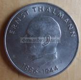 om275 - East German 20 Marks issued coin - c1971 Ernst Thaelmann