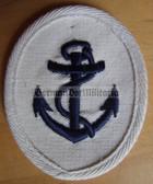 om191 - Maat Volksmarine Seedienst - Naval Service - sleeve patch - white