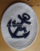 om193 - 2 - Maat Volksmarine Medizin - Medical Service - sleeve patch - white