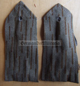 sbfd000 - FELDDIENST CIVILIAN EMPLOYEES - all branches of the army and border guards - pair of shoulder boards