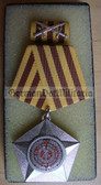 om967 - 2 - NVA ARMY - KAMPFORDEN IN SILVER - combat order for high ranking officers and Generals only