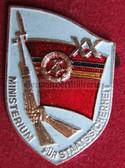 om932 - 4 - original MfS Stasi Staatssicherheit 20 years anniversary badge - Erich Mielke