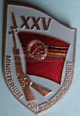 om945 - 6 - original MfS Stasi Staatssicherheit 25 years anniversary badge - Erich Mielke