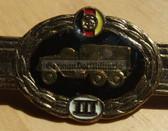 qs006 - Qualifizierungsspange qualification clasp KFZ DIENST army drivers - worn on uniforms