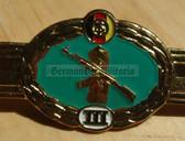 qs012 - Qualifizierungsspange qualification clasp GRENZTRUPPEN border guards - worn on uniforms