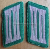sbbs011 - 3 - pair of BePo Bereitschaftspolizei Riot Police enlisted EM Collar Tabs - Dress Uniform