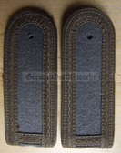 sbfd005 - 5 - FELDDIENST UNTERFELDWEBEL - all branches of the army and border guards - pair of shoulder boards