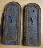 sbfd010 - FELDDIENST FAEHNRICHSCHUELER YEAR 2 - all branches of the army and border guards - pair of shoulder boards