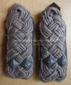 sbfd026 - FELDDIENST OBERSTLEUTNANT - all branches of the army and border guards - pair of shoulder boards