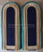 sbgbk005 - 7 - OBERMAAT - Grenzbrigade Kueste - Coastal Border Guards - pair of shoulder boards