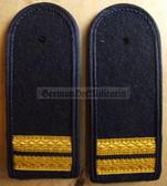 sbvmx003 - STABSMATROSE  - from early 1970's - Volksmarine - Navy - pair of shoulder boards