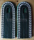 sbvp003 - 5 - UNTERWACHTMEISTER DER VP - Volkspolizei - Police - pair of shoulder boards
