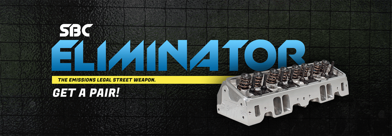 SBC - Eliminator High Performance Cylinder Heads