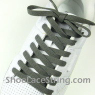Charcoal Gray 55INCH Shoe Laces Grey Shoe Strings 2Pairs